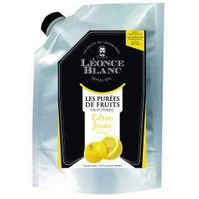 Purée de citron jaune pasteurisée - 1 kg