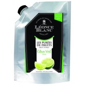 Purée de citron vert pasteurisée - 1kg